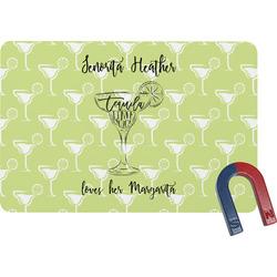 Margarita Lover Rectangular Fridge Magnet (Personalized)