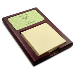 Margarita Lover Red Mahogany Sticky Note Holder (Personalized)