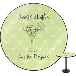 Margarita Lover Round Table (Personalized)