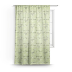 "Margarita Lover Sheer Curtain - 50""x84"" (Personalized)"