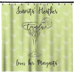 Margarita Lover Shower Curtain (Personalized)