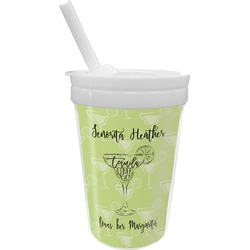Margarita Lover Sippy Cup with Straw (Personalized)