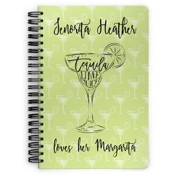 Margarita Lover Spiral Bound Notebook (Personalized)