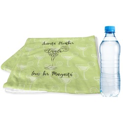 Margarita Lover Sports & Fitness Towel (Personalized)