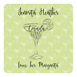 Margarita Lover Square Decal - Large (Personalized)