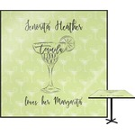 Margarita Lover Square Table Top (Personalized)