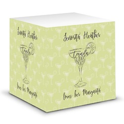 Margarita Lover Sticky Note Cube (Personalized)