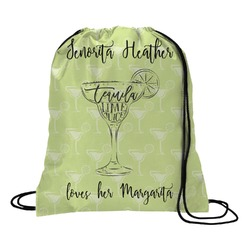 Margarita Lover Drawstring Backpack (Personalized)