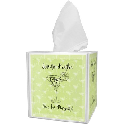 Margarita Lover Tissue Box Cover (Personalized)