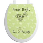 Margarita Lover Toilet Seat Decal (Personalized)