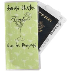 Margarita Lover Travel Document Holder