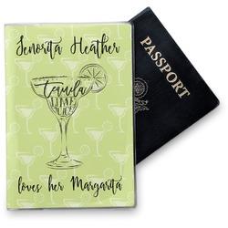 Margarita Lover Vinyl Passport Holder (Personalized)