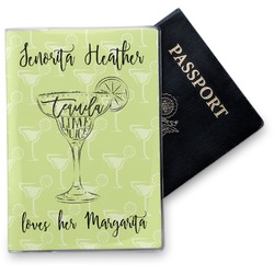 Margarita Lover Vinyl Passport Holder (Personalized)