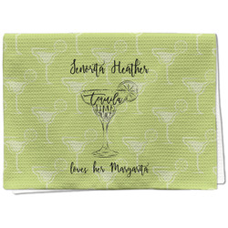 Margarita Lover Waffle Weave Kitchen Towel - Full Print (Personalized)