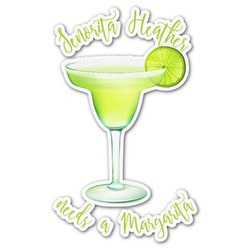 Margarita Lover Graphic Decal - Custom Sized (Personalized)