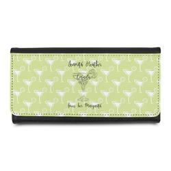 Margarita Lover Leatherette Ladies Wallet (Personalized)