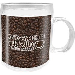 Coffee Addict Acrylic Kids Mug (Personalized)