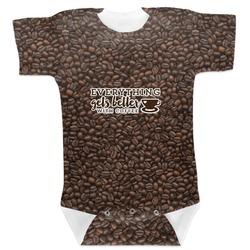 Coffee Addict Baby Bodysuit (Personalized)