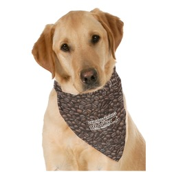 Coffee Addict Pet Bandanas (Personalized)