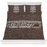 Coffee Addict Comforters (Personalized)
