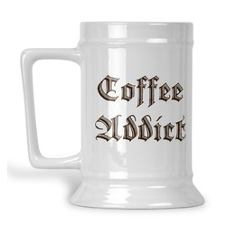 Coffee Addict Beer Stein (Personalized)