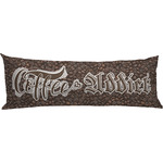 Coffee Addict Body Pillow Case (Personalized)
