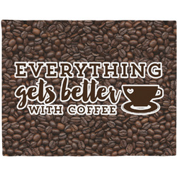 Coffee Addict Placemat (Fabric) (Personalized)