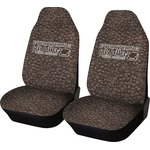 Coffee Addict Car Seat Covers (Set of Two) (Personalized)