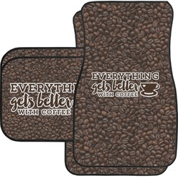 Coffee Addict Car Floor Mats (Personalized)