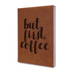 Coffee Addict Leatherette Journal (Personalized)