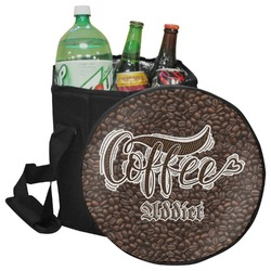 Coffee Addict Collapsible Cooler & Seat (Personalized)