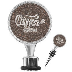 Coffee Addict Wine Bottle Stopper (Personalized)