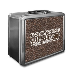 Coffee Addict Lunch Box (Personalized)