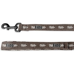 Coffee Addict Deluxe Dog Leash (Personalized)
