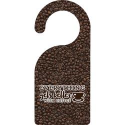 Coffee Addict Door Hanger (Personalized)