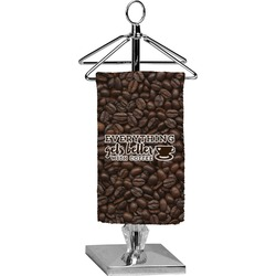Coffee Addict Finger Tip Towel - Full Print (Personalized)