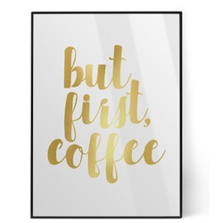 Coffee Addict Foil Print (Personalized)
