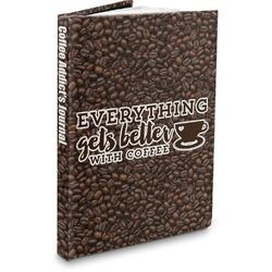 Coffee Addict Hardbound Journal (Personalized)