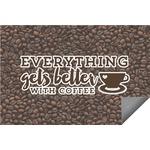 Coffee Addict Indoor / Outdoor Rug (Personalized)