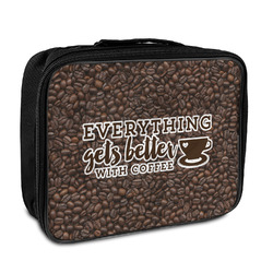 Coffee Addict Insulated Lunch Bag (Personalized)