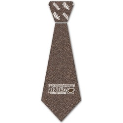 Coffee Addict Iron On Tie (Personalized)