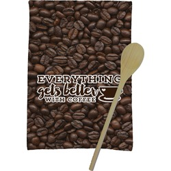 Coffee Addict Kitchen Towel - Full Print (Personalized)