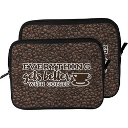 Coffee Addict Laptop Sleeve / Case (Personalized)