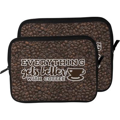 Coffee Addict Laptop Sleeve / Case (Personalized)