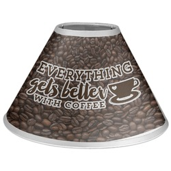 Coffee Addict Coolie Lamp Shade (Personalized)