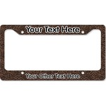 Coffee Addict License Plate Frame (Personalized)