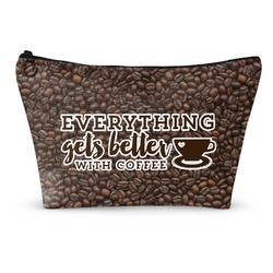 Coffee Addict Makeup Bags (Personalized)