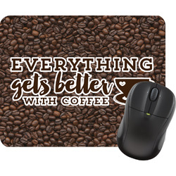 Coffee Addict Mouse Pad (Personalized)