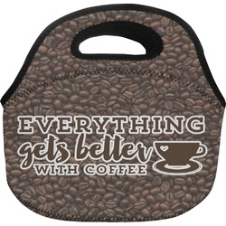 Coffee Addict Lunch Bag (Personalized)