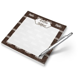 Coffee Addict Notepad (Personalized)